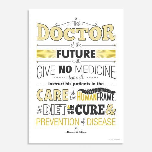 THOMAS EDISON doctor of the future