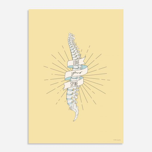 love your spine poster