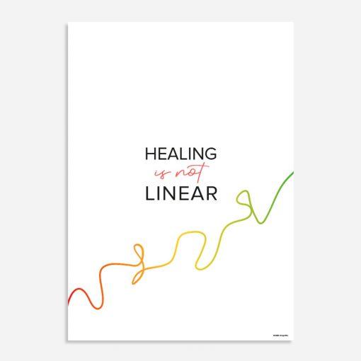 healing is not linear