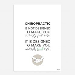 chiropractic feel better