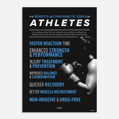 sports chiropractic poster