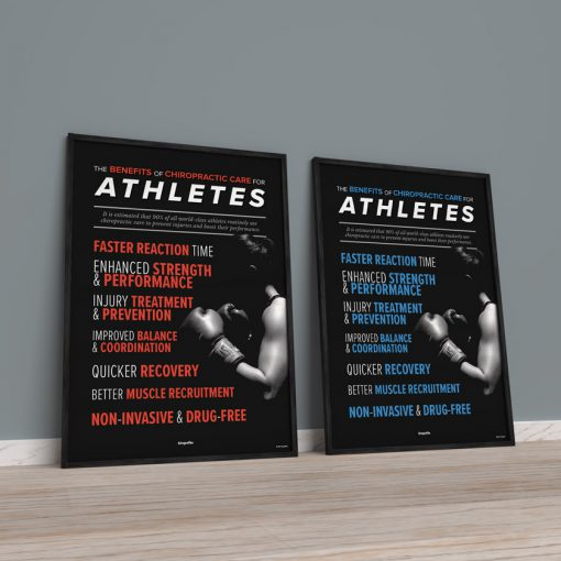 sports chiropractic posters