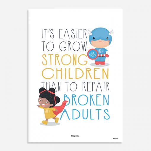 chiropractic posters kids
