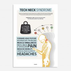 text neck poster