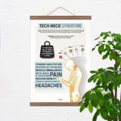 tech neck poster