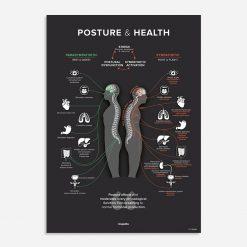 Posture chiropractic poster