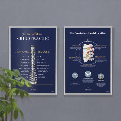 branded chiropractic posters