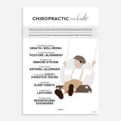 pediatric chiropractic poster