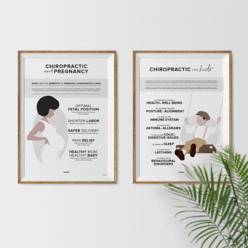 prenatal chiropractic poster