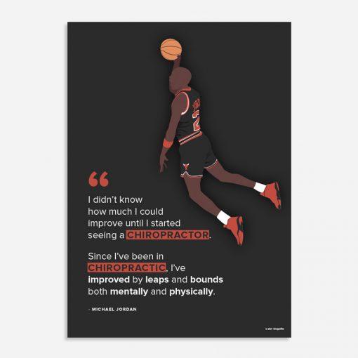 michael jordan chiropractic quote