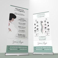 chiropractic pregnancy banner